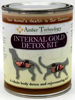 Internal Gold Detox Kit is an excellent way to cleanse and detox your pet or animal's body!