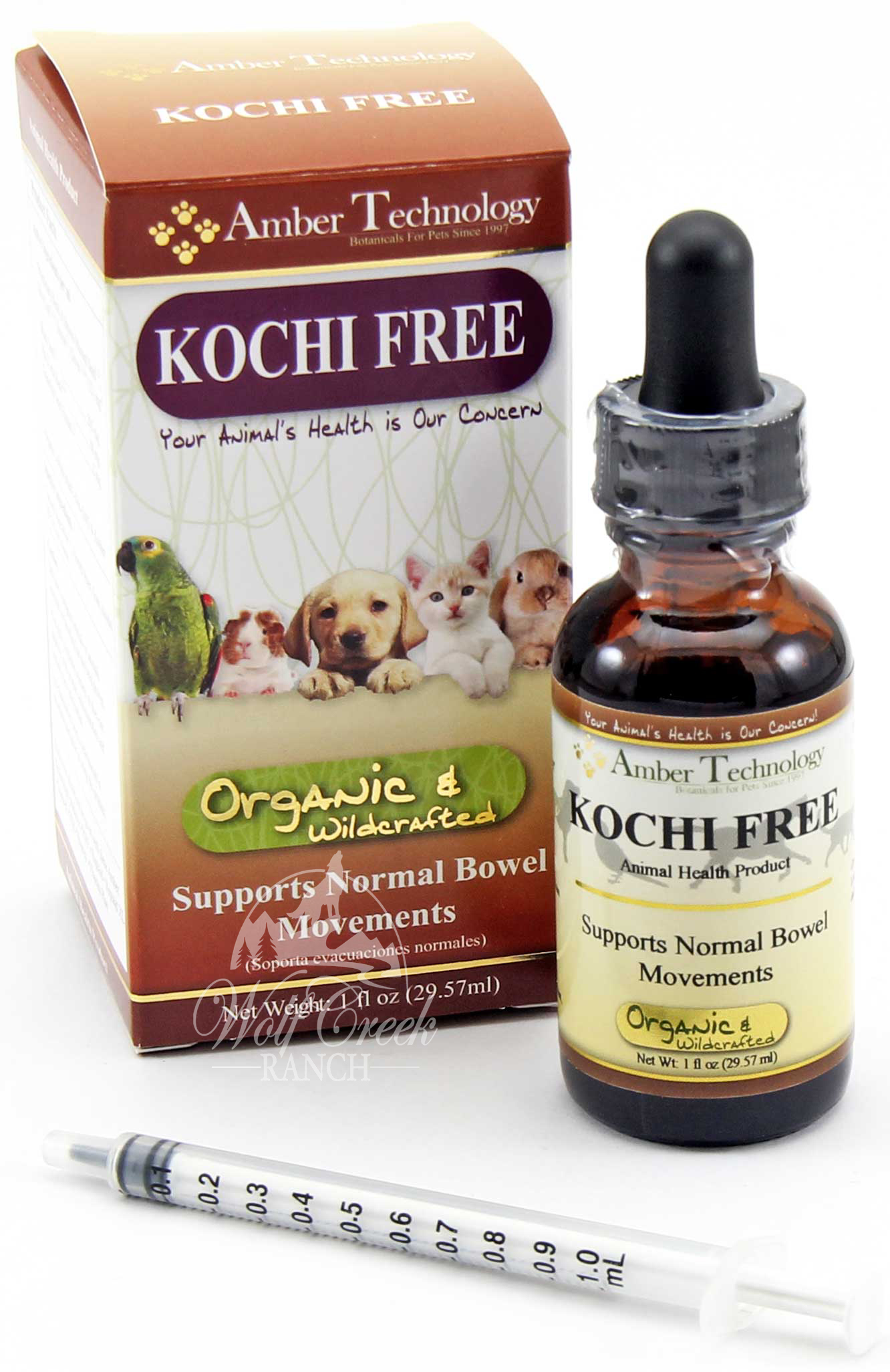 Kochi Free (aka Kocci Free) helps eliminate coccidia and giardia protozoan!  Buy Kochi Free (aka Kocci Free) to prevent coccidia infection or treat it!