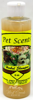 Pet Scents Herbal Shampoo is excellent to eliminate fleas, ticks, mites, and keep your pets fur healthy, soft, and clean.