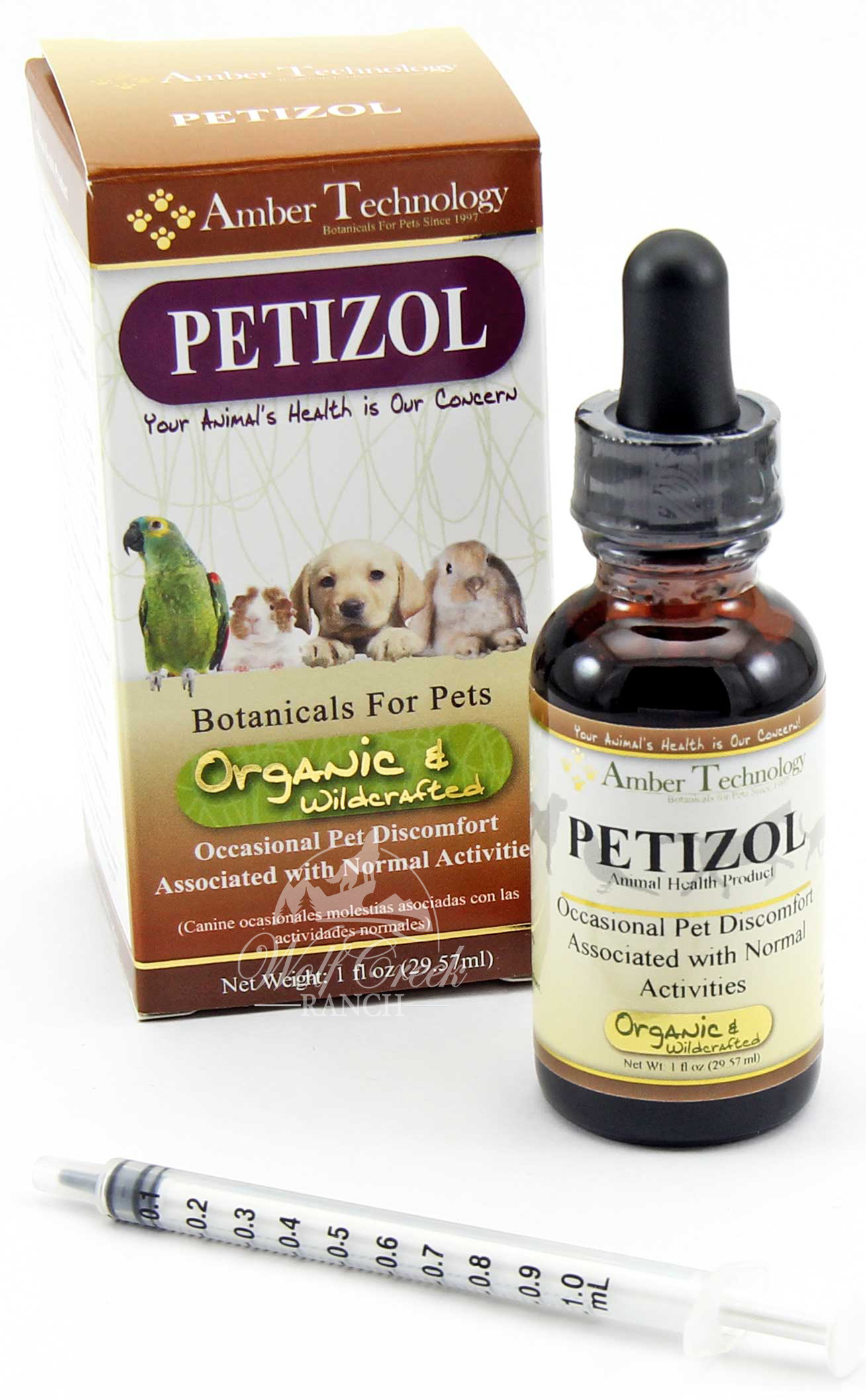 Petizol reduces fever, chest, pains, & inflammation.  Buy Petizol to relieve your pet's pain today!