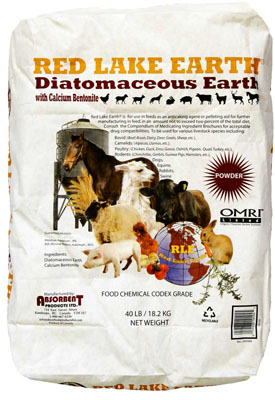 Buy Red Lake Diatomaceous Earth w/Calcium Bentonite