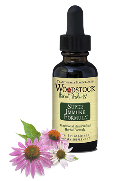 Super Immune Formula ~ Herbal armor for the whole body.