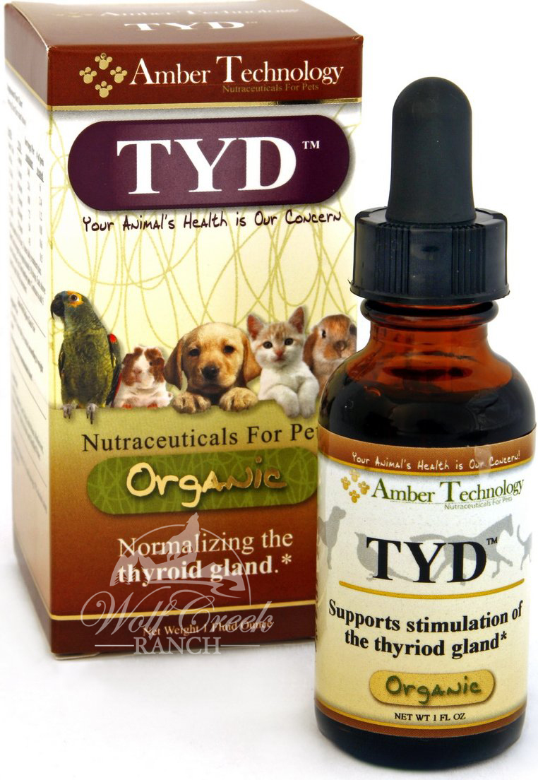 TYD is a natural organic thyroid supplement that is helpful for hypothyroid and hyperthyroid conditions.  Buy it today for a healthier thyroid.